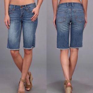 Lucky Brand | Boardwalk Denim Bermuda Jean Shorts